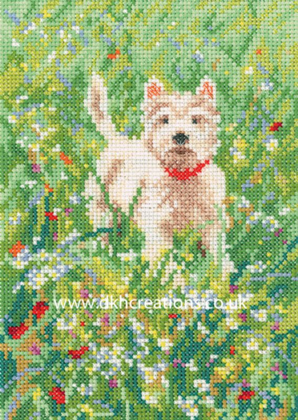 The Scamp Cross Stitch Kit